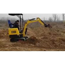 Equipamentos de construção Mini escavadeiras retroescavadeiras pequenas escavadeiras para venda
