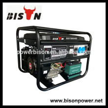 BISON (CHINA) Noiseless China Generador de 4kw de Gasolina
