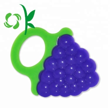 Food Grade Hot Sale Mainan Bayi Silicone Teether