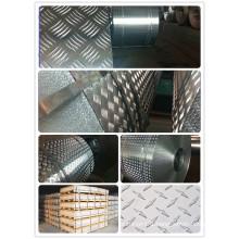 5bars/2bars/Diamond/Orange Stucco Embossed Aluminum Sheet/Plate/Coil for Floor