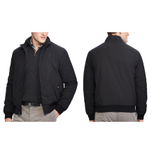 Man Jacket with Slim Short Stand Collar Jacket