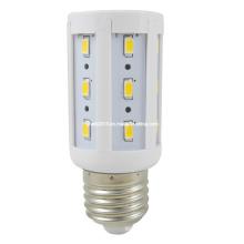 Nueva lámpara caliente de la luz de bulbo del maíz de la venta E27 24 5730 DMD LED