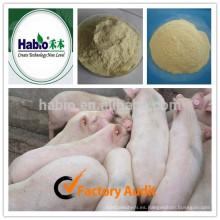 Compuesto de enzima de alimentación de aditivo para cerdos en crecimiento