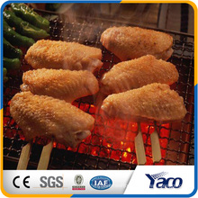 Factory crimped wire mesh Disposable stainless BBQ Wire Mesh