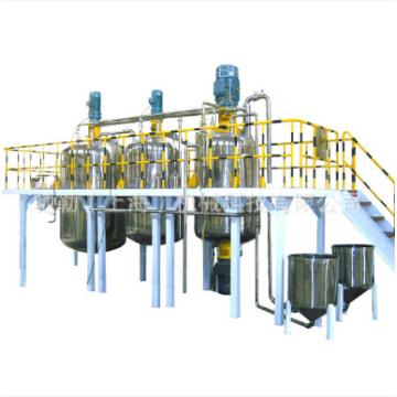 Configuration de l'équipement pour la ligne de production de peinture au latex