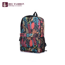HEC Custom Fashion Teenager Canvas Leder Rucksack