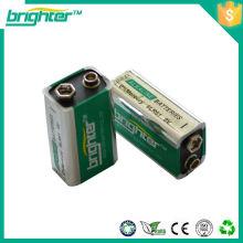 Bateria alcalina de 6lr61 9v feita na China