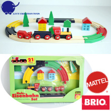 Classic Wooden Magnetic Railway Starter Set