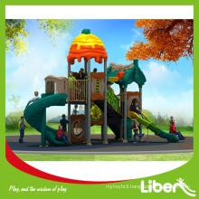 2015 Newest Design School Playground Plastic Slides, China Factory Cheap Plastic Slides