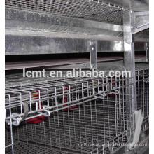 industrail galvanizado 4 teirs 160 aves gaiola de galinha