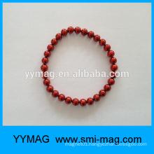 Magnetic bead, Magnetic bracelet