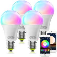 Ampoule LED E27 9W Ampoule Wifi Intelligente LED