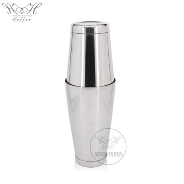 550mm + 750ml acero inoxidable Boston Cocktail Shaker Set