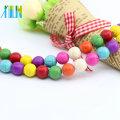 Melhor Venda M0006 Forma Redonda Mix Cor Tibetana Bela Adormecida Turquesa Beads Persa Turquesa Pedras