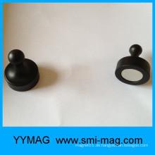 Die dunklen magnetischen Kühlraumaufkleber / Magnetstift