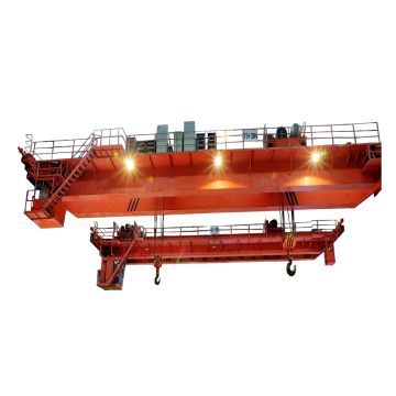 محطة توليد الكهرباء 60ton / 80ton Double Girder EOT Bridge Crane