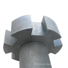 High Purity Carbon Graphite Rotor For Aluminum melting Industry