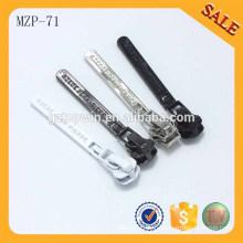 MZP71 Extracteur de fermeture à glissière en métal semi-automatique coloré de haute qualité avec curseur