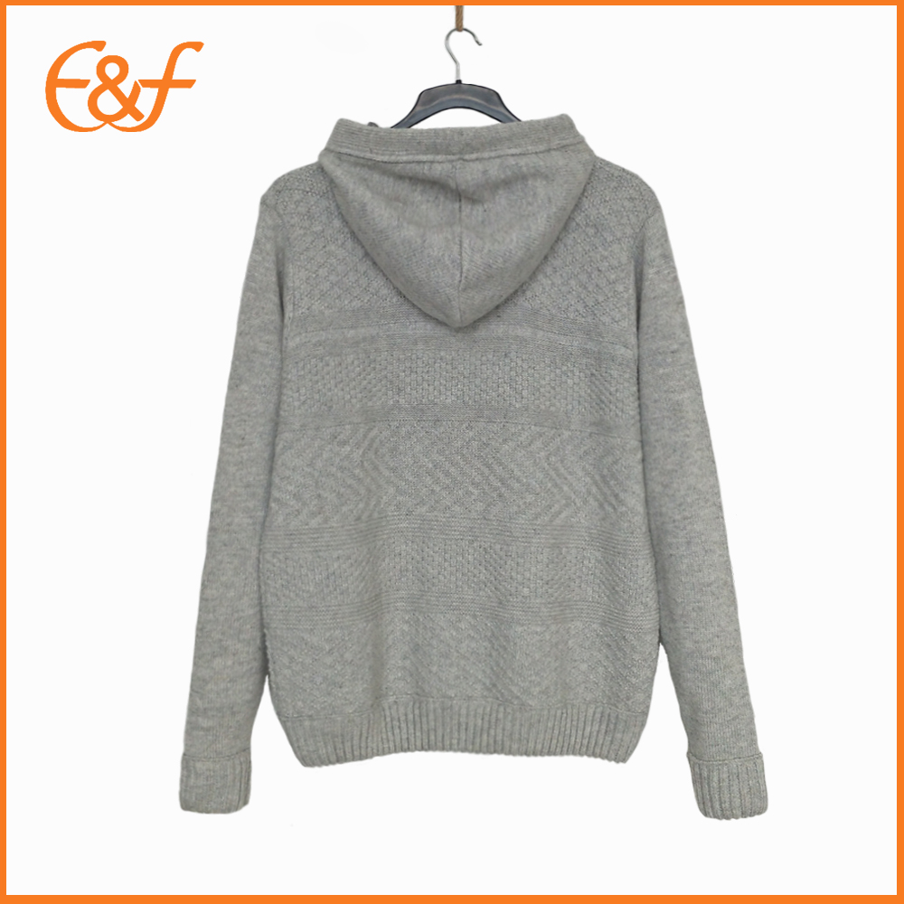 Men hooded sweater