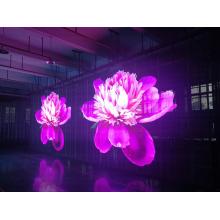 Visor led de vidro de alto brilho com 50% de transparência