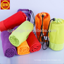 High Quality Wholesale Custom Cheap microfiber suede towel with PVC bag High Quality Wholesale Custom Cheap microfiber suede towel with PVC bag for wholesales