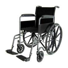 Feste Armlehne abnehmbarer Bein manueller Rollstuhl