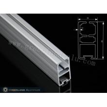 Untere Schiene aus Aluminium in schwerer Ausführung