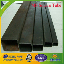 Q195, Q235, Q345 Schedule 40 tubo quadrado de aço