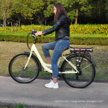 Chinese  26inch 700c light weight ebike electric city bike road bicycle  Lithium ion battery 36V 8.8AH electric bike bicycle