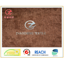 21W Weft Spandex N/P Corduroy Bonded Fabric Brown Color (ZCCF020)