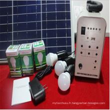 Lumière solaire de système actionnée par 30W pour l'usage d'éclairage à la maison