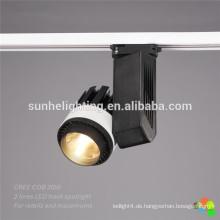 Hohes Lumen geführtes dimmable geführtes Schienenbeleuchtung geführtes Schienenlicht 35w 45w Speicher geführtes Schienenlicht