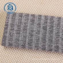 100% tela hacci de encargo de la tela de la raya del algodón