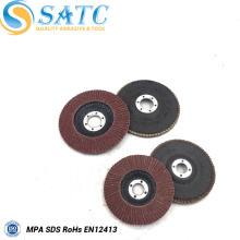 disco não tecido abrasivo da aleta de pano da qualidade superior para lustrar