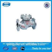 Válvula de verificação de levantamento do aço inoxidável 316 usada no fornecedor da porcelana do ácido nítrico