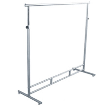 Easy to assemble Clothes Metal Shelving Clothes Showing Shelving Clothing Display Racking