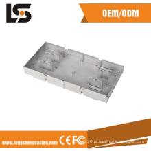 Shell de fundição de alumínio com fabricação de usinagem