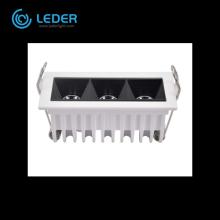 LEDER Côté étroit Blanc 2W * 3 LED Linéaire Lumière
