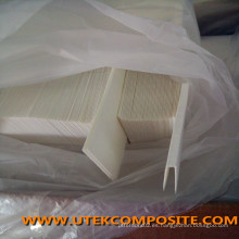 Separador de la batería de la fibra de vidrio separadora del tipo doblado