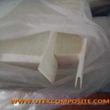 Separador de bateria de fibra de vidro do separador de tipo dobrado