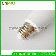 Guangzhou fábrica cálida LED blanco E27 / E14 / B22 bombilla LED lámpara al por mayor