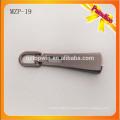 MZP19 Застежка -молния черного металла хорошего качества / изготовленный на заказ съемник молнии / слайдер застежки -молнии