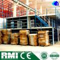 Mezanino de armazém de armazenamento levantado modular
