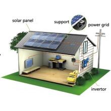 Panel solar con conexión a red de 300W / sistema de energía solar para el hogar