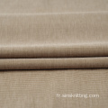 Tissu double tricot polyester, viscose et spandex