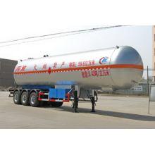 13m Tri-axle Liquefied Gas Tank Semi Trailer