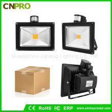 High Lumen LED Flutlicht 50watt Witn Sensor PIR Flutlicht