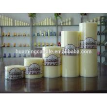 Свечи Huaming / Оптовые белые свечи столба / большая свечка столба для домашнего украшения