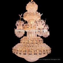 Zhongshan guzhen comercial lámpara de araña de hotel en venta