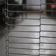 Food garde stainless steel balanced mesh conveyor belt